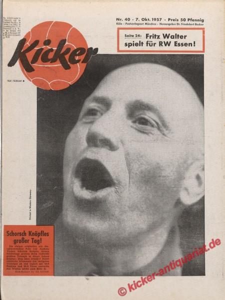 Kicker Nr. 40, 7.10.1957 bis 13.10.1957