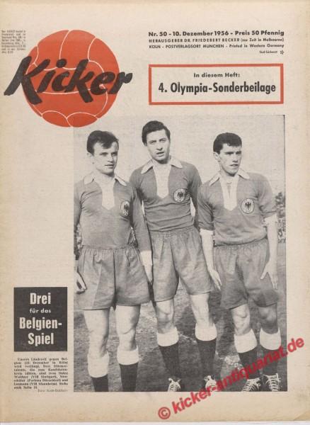 Kicker Nr. 50, 10.12.1956 bis 16.12.1956
