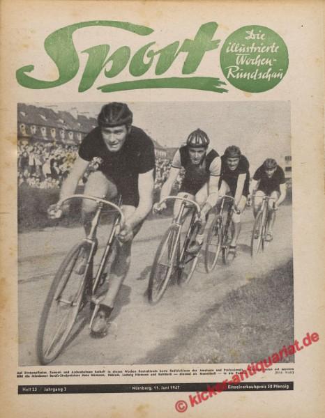 Sportmagazin Nr. 23, 11.6.1947 bis 17.6.1947