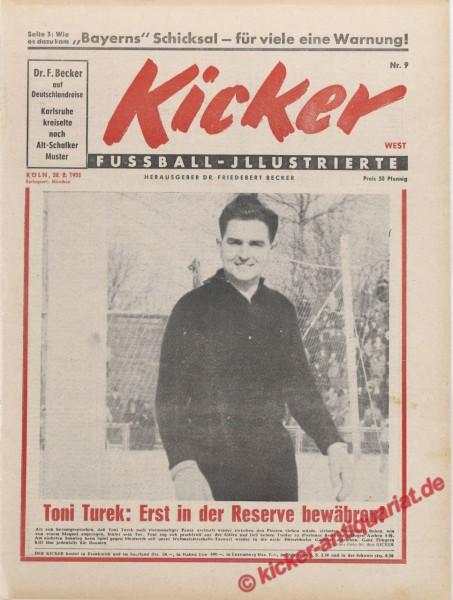 Kicker Nr. 9, 28.2.1955 bis 6.3.1955