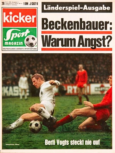 Kicker Sportmagazin Nr. 26, 31.3.1969 bis 6.4.1969