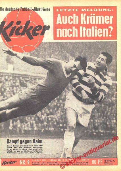 Kicker Nr. 9, 2.3.1964 bis 8.3.1964
