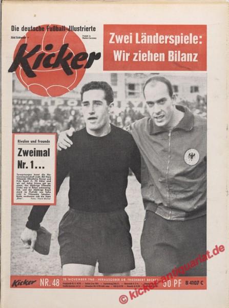 Kicker Nr. 48, 28.11.1960 bis 4.12.1960