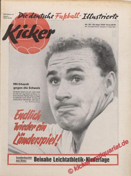 Kicker Nr. 39, 28.9.1959 bis 4.10.1959