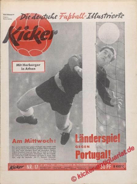 Kicker Nr. 17, 25.4.1960 bis 1.5.1960