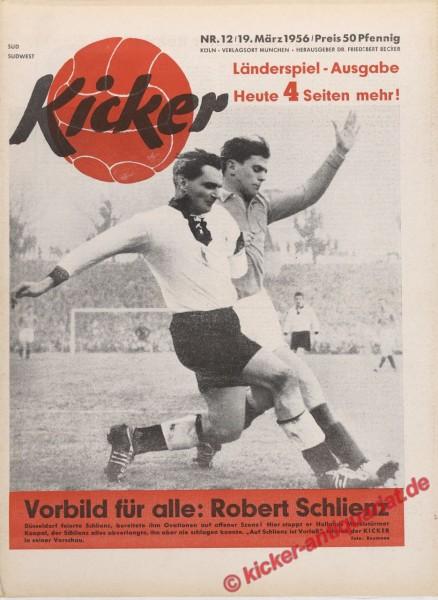 Kicker Nr. 12, 19.3.1956 bis 25.3.1956