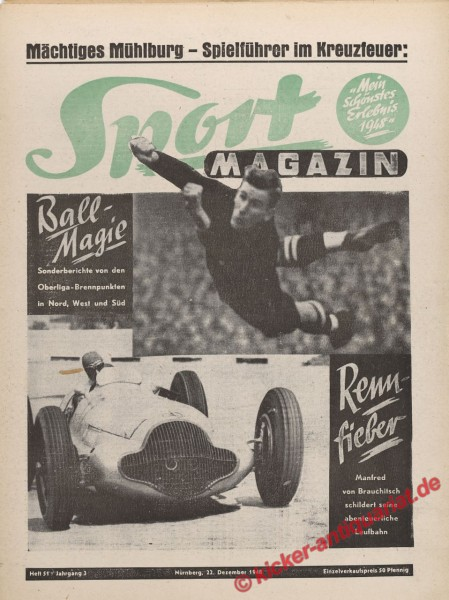 Sportmagazin Nr. 51, 22.12.1948 bis 28.12.1948