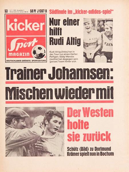 Kicker Sportmagazin Nr. 53, 3.7.1969 bis 9.7.1969