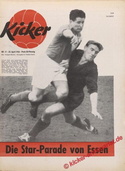 Kicker Nr. 17, 23.4.1956 bis 29.4.1956