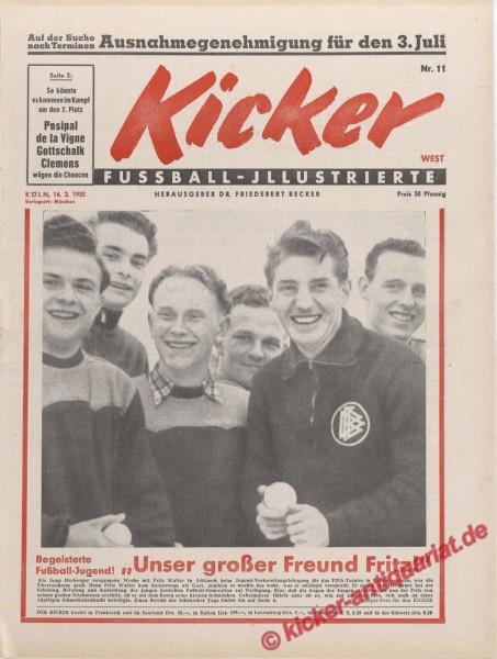 Kicker Nr. 11, 14.3.1955 bis 20.3.1955