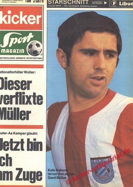 Kicker Sportmagazin Nr. 16, 23.2.1970 bis 1.3.1970