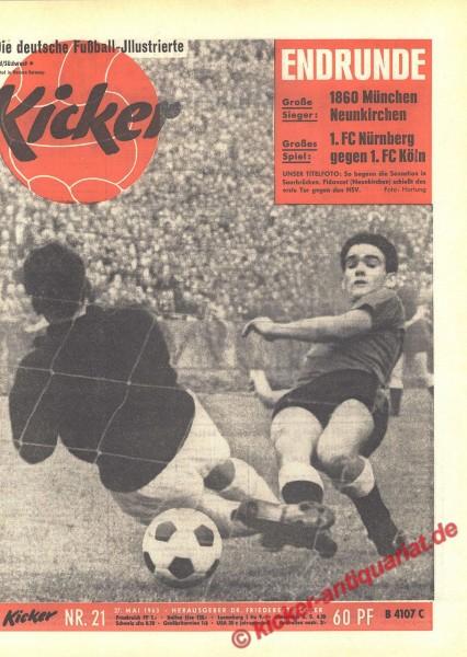 Kicker Nr. 21, 27.5.1963 bis 2.6.1963